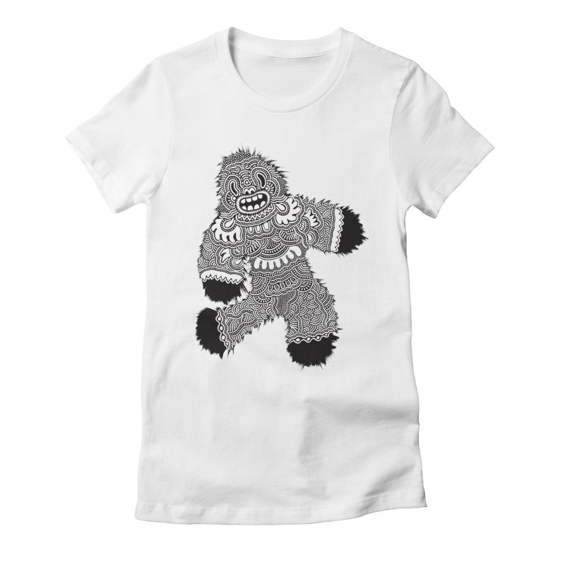 Monster of the day (November 13) [Year 1] Women's Fitted T-Shirt by Daily Monster Shop by Royal Glamsters