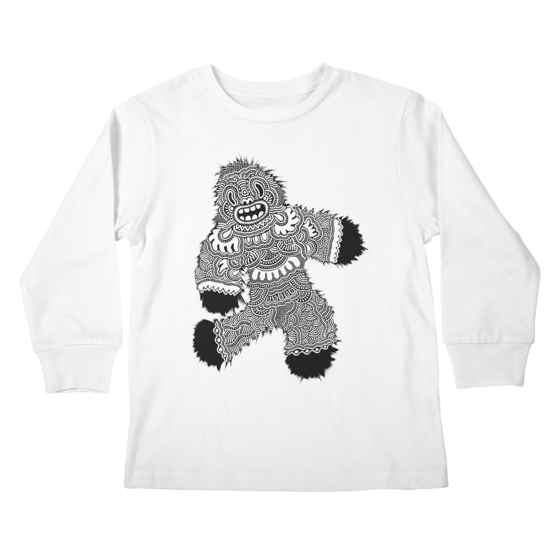 Monster of the day (November 13) [Year 1] Kids Longsleeve T-Shirt by Daily Monster Shop by Royal Glamsters