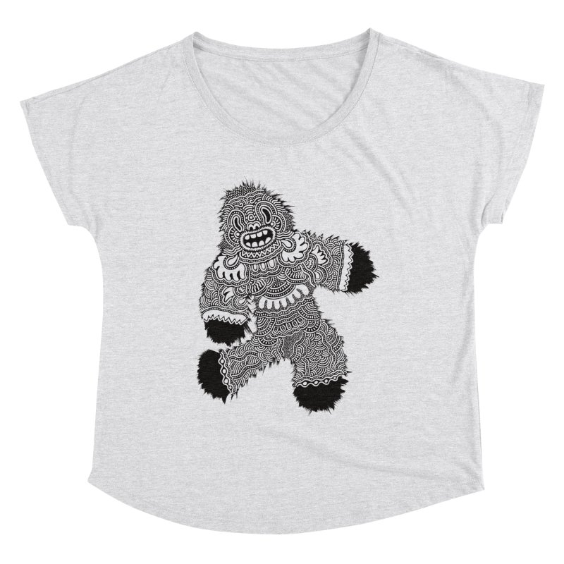 Monster of the day (November 13) [Year 1] Women's Scoop Neck by Daily Monster Shop by Royal Glamsters