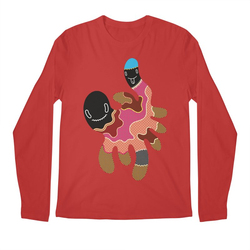 Monster of the day (October 15) [Year 1] Men's Longsleeve T-Shirt by Daily Monster Shop by Royal Glamsters