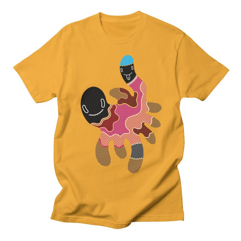 Monster of the day (October 15) [Year 1] in Men's T-Shirt Gold by Daily Monster Shop by Royal Glamsters