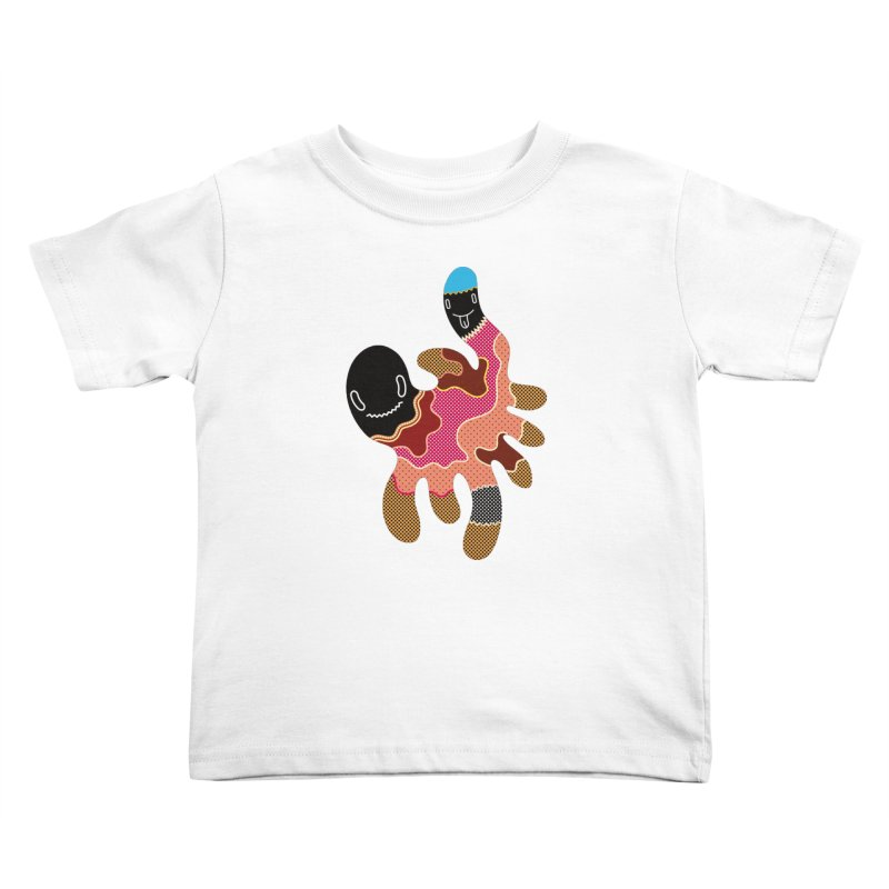 Monster of the day (October 15) [Year 1] Kids Toddler T-Shirt by Daily Monster Shop by Royal Glamsters