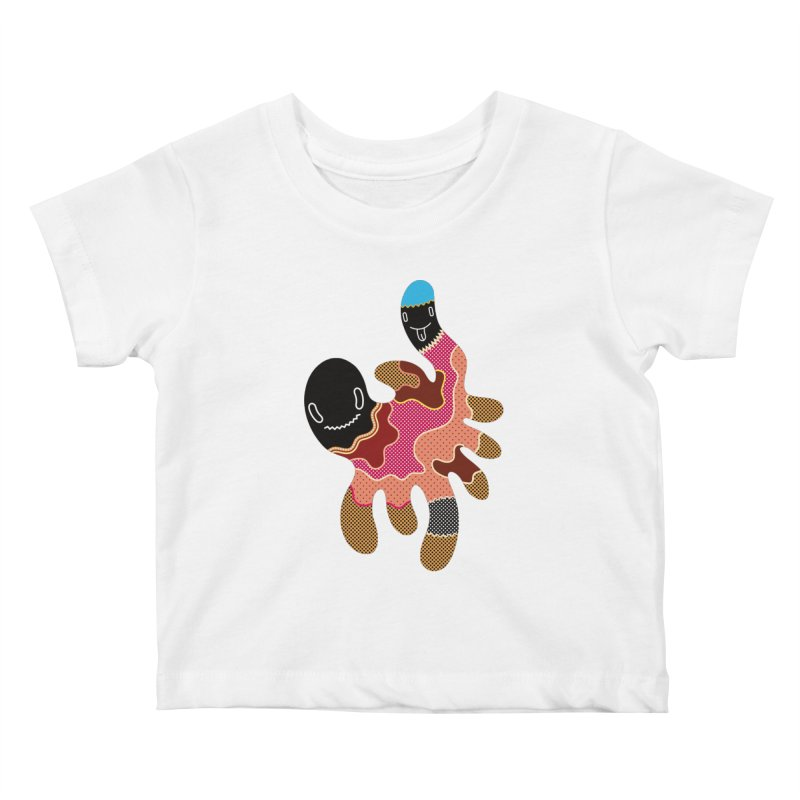 Monster of the day (October 15) [Year 1] Kids Baby T-Shirt by Daily Monster Shop by Royal Glamsters