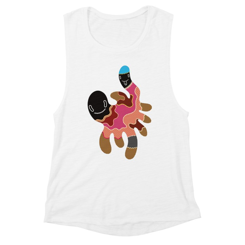 Monster of the day (October 15) [Year 1] Women's Muscle Tank by Daily Monster Shop by Royal Glamsters