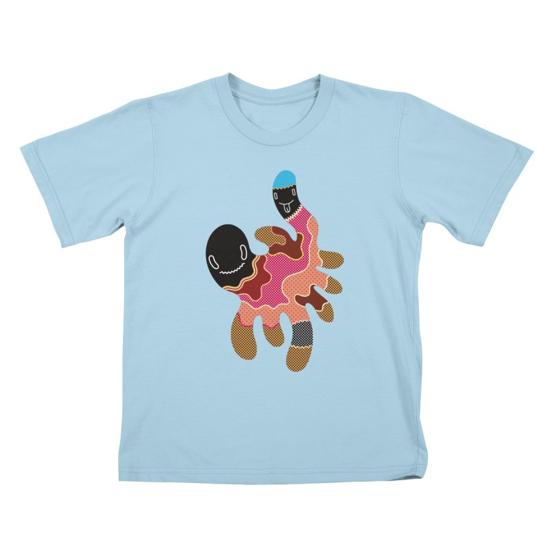 Monster of the day (October 15) [Year 1] Kids T-Shirt by Daily Monster Shop by Royal Glamsters