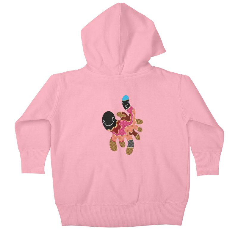 Monster of the day (October 15) [Year 1] Kids Baby Zip-Up Hoody by Daily Monster Shop by Royal Glamsters