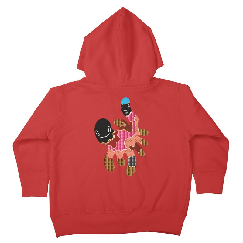 Monster of the day (October 15) [Year 1] Kids Toddler Zip-Up Hoody by Daily Monster Shop by Royal Glamsters