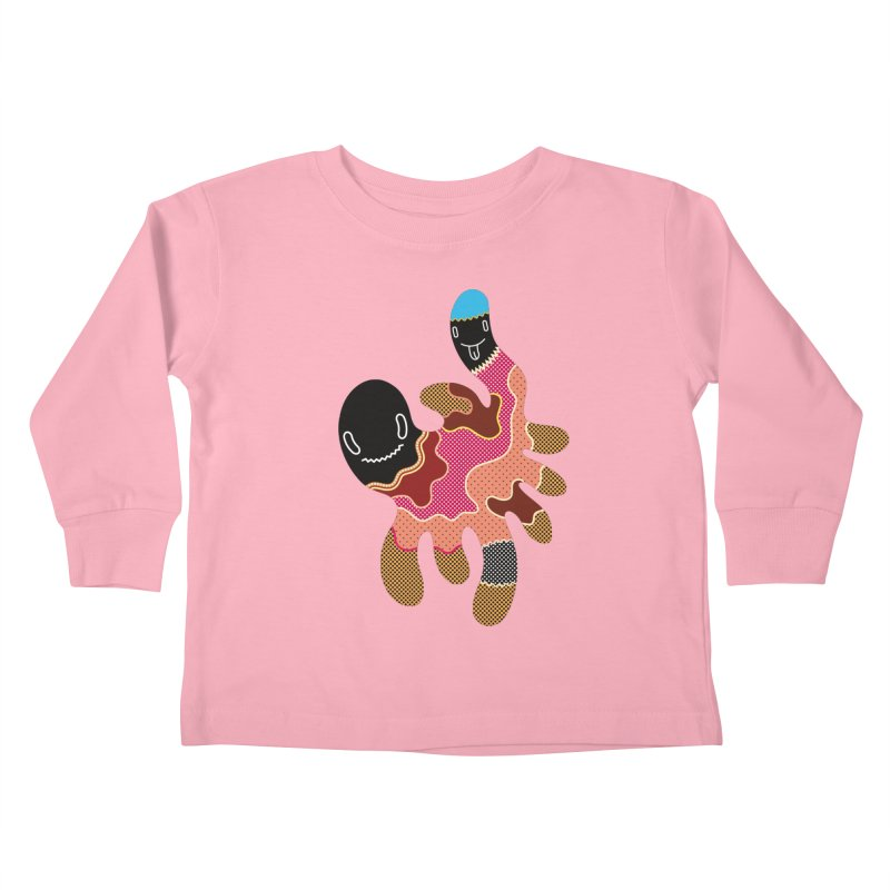 Monster of the day (October 15) [Year 1] Kids Toddler Longsleeve T-Shirt by Daily Monster Shop by Royal Glamsters