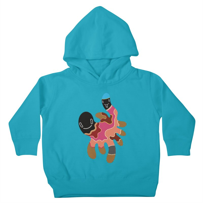 Monster of the day (October 15) [Year 1] Kids Toddler Pullover Hoody by Daily Monster Shop by Royal Glamsters