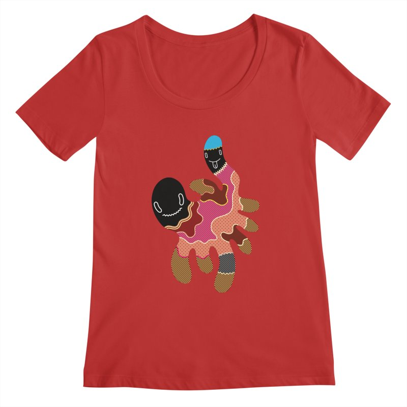Monster of the day (October 15) [Year 1] Women's Regular Scoop Neck by Daily Monster Shop by Royal Glamsters