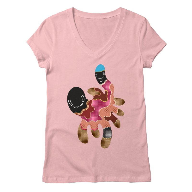 Monster of the day (October 15) [Year 1] Women's Regular V-Neck by Daily Monster Shop by Royal Glamsters