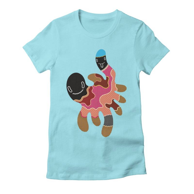 Monster of the day (October 15) [Year 1] Women's Fitted T-Shirt by Daily Monster Shop by Royal Glamsters