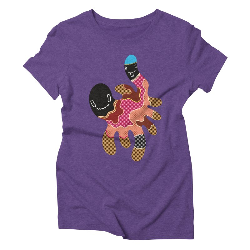 Monster of the day (October 15) [Year 1] Women's Triblend T-Shirt by Daily Monster Shop by Royal Glamsters