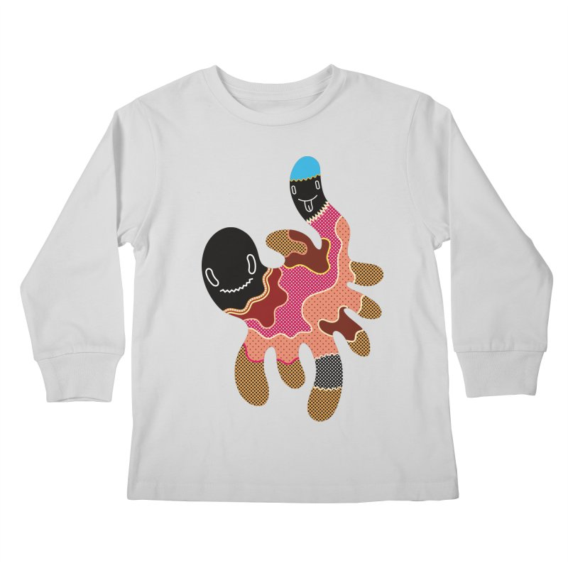 Monster of the day (October 15) [Year 1] Kids Longsleeve T-Shirt by Daily Monster Shop by Royal Glamsters