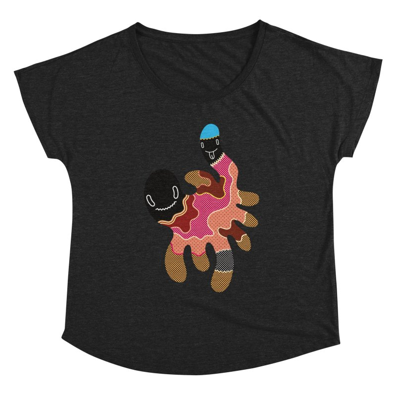 Monster of the day (October 15) [Year 1] Women's Scoop Neck by Daily Monster Shop by Royal Glamsters