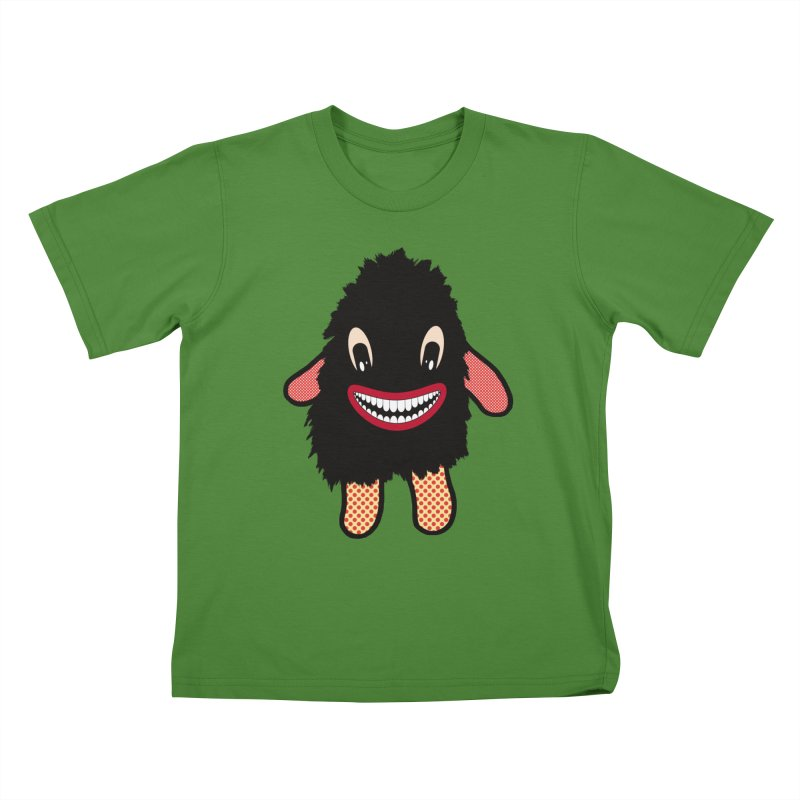 Monster of the day (February 16) [Year 1] Kids T-Shirt by Daily Monster Shop by Royal Glamsters
