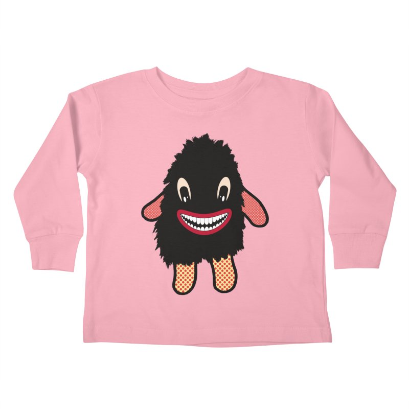 Monster of the day (February 16) [Year 1] Kids Toddler Longsleeve T-Shirt by Daily Monster Shop by Royal Glamsters
