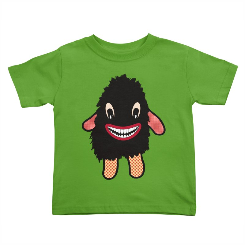 Monster of the day (February 16) [Year 1] Kids Toddler T-Shirt by Daily Monster Shop by Royal Glamsters