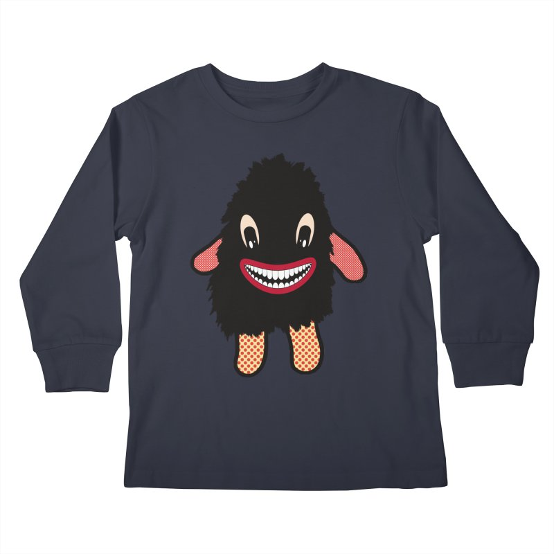 Monster of the day (February 16) [Year 1] Kids Longsleeve T-Shirt by Daily Monster Shop by Royal Glamsters