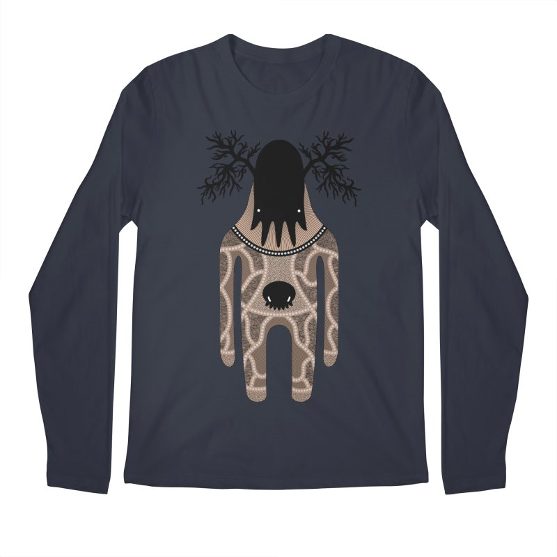 Monster of the day (April 24) [Year 1] Men's Regular Longsleeve T-Shirt by Daily Monster Shop by Royal Glamsters
