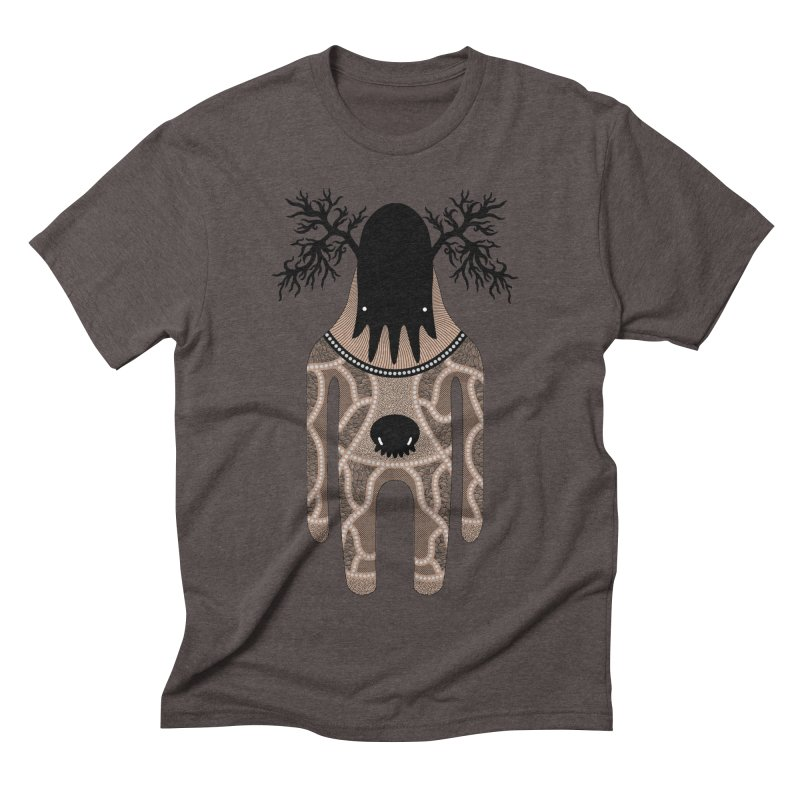 Monster of the day (April 24) [Year 1] Men's Triblend T-Shirt by Daily Monster Shop by Royal Glamsters