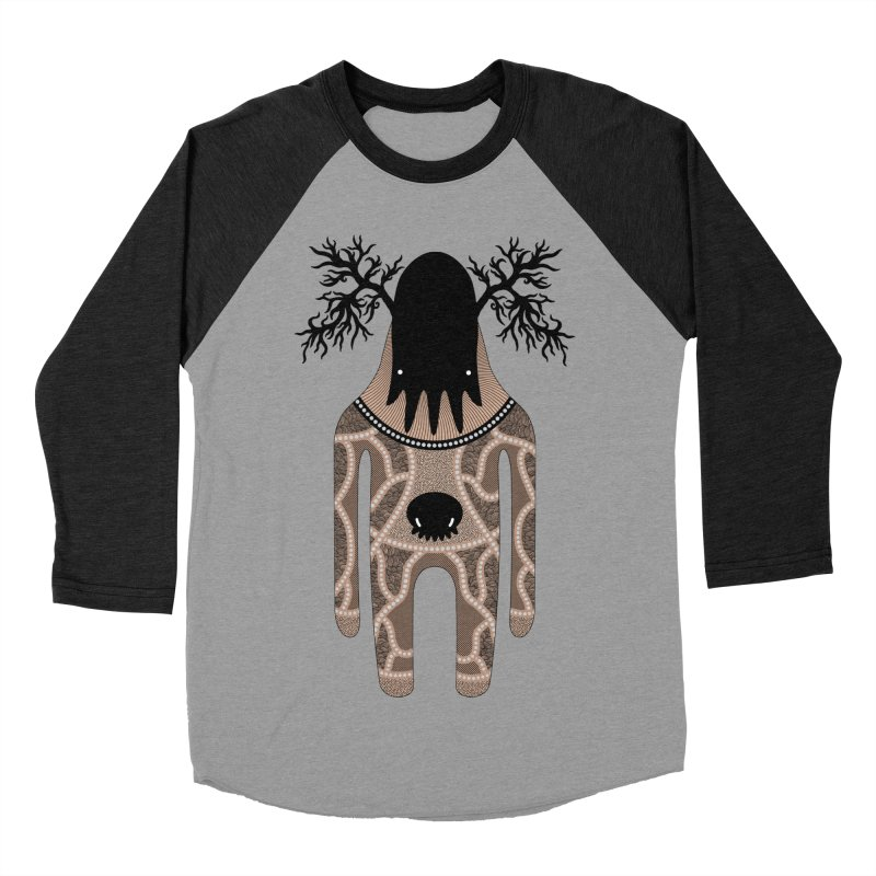 Monster of the day (April 24) [Year 1] Men's Baseball Triblend Longsleeve T-Shirt by Daily Monster Shop by Royal Glamsters