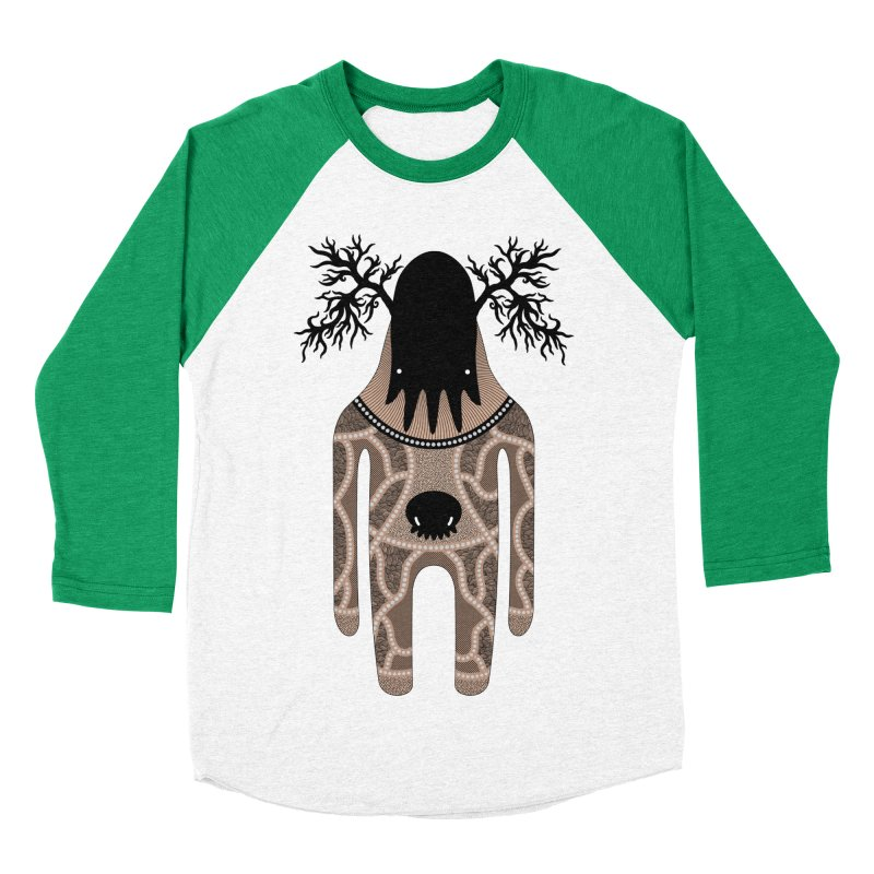 Monster of the day (April 24) [Year 1] Men's Baseball Triblend T-Shirt by Daily Monster Shop by Royal Glamsters