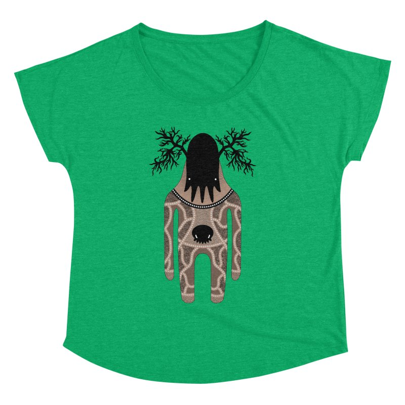 Monster of the day (April 24) [Year 1] Women's Dolman Scoop Neck by Daily Monster Shop by Royal Glamsters