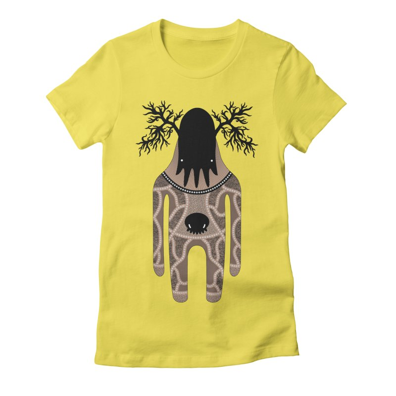 Monster of the day (April 24) [Year 1] Women's Fitted T-Shirt by Daily Monster Shop by Royal Glamsters