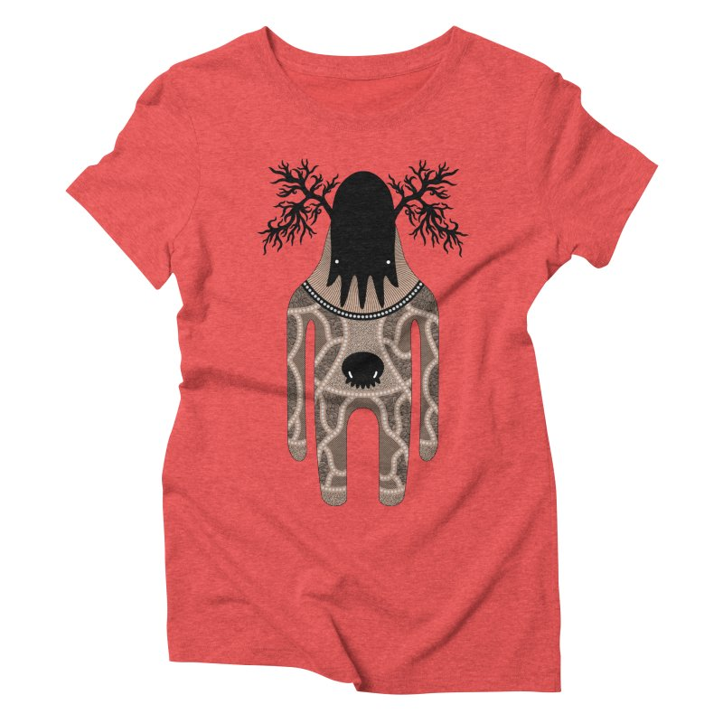 Monster of the day (April 24) [Year 1] Women's Triblend T-Shirt by Daily Monster Shop by Royal Glamsters