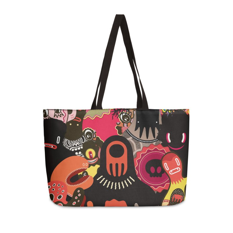"""Monsters Show"" [2] (Weekender Bag) Accessories Bag by Daily Monster Shop by Royal Glamsters"