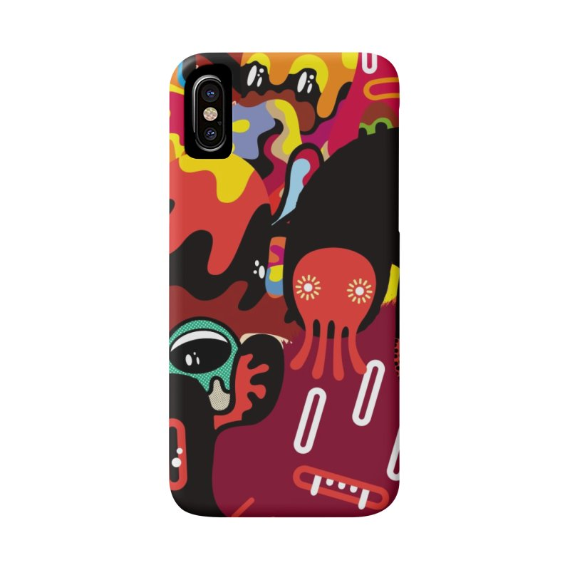 """Monsters Show"" [3] (Phone Case) Accessories Phone Case by Daily Monster Shop by Royal Glamsters"