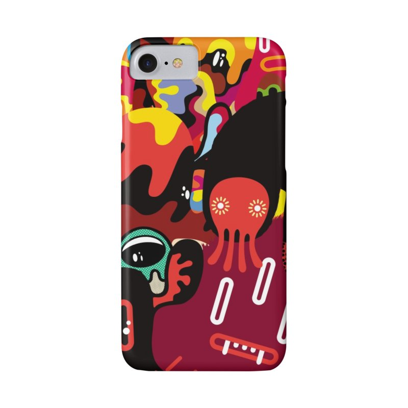 """Monsters Show"" [3] (Phone Case) in iPhone 8 Phone Case Slim by Daily Monster Shop by Royal Glamsters"