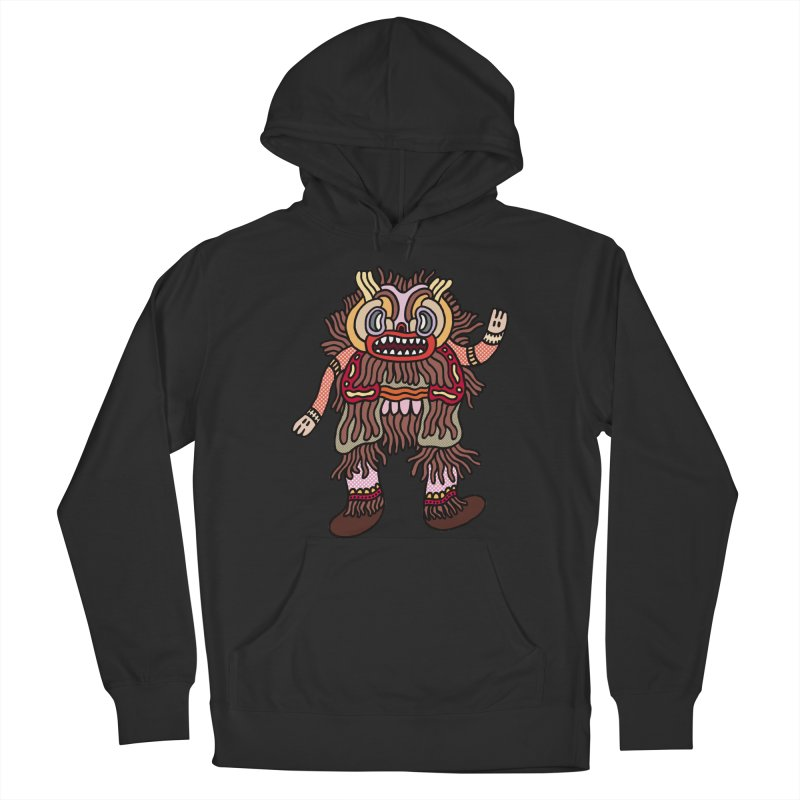 Olmeca Monster of the day (June 6) [Year 1] Men's French Terry Pullover Hoody by Daily Monster Shop by Royal Glamsters