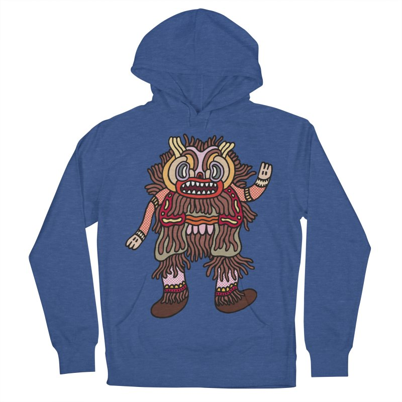 Olmeca Monster of the day (June 6) [Year 1] Women's French Terry Pullover Hoody by Daily Monster Shop by Royal Glamsters
