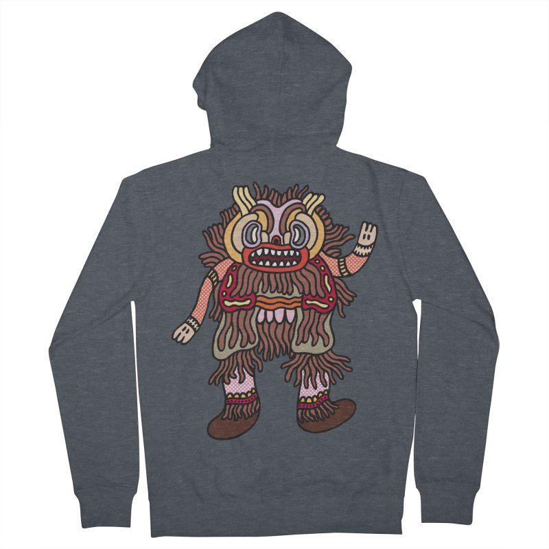 Olmeca Monster of the day (June 6) [Year 1] Women's Zip-Up Hoody by Daily Monster Shop by Royal Glamsters