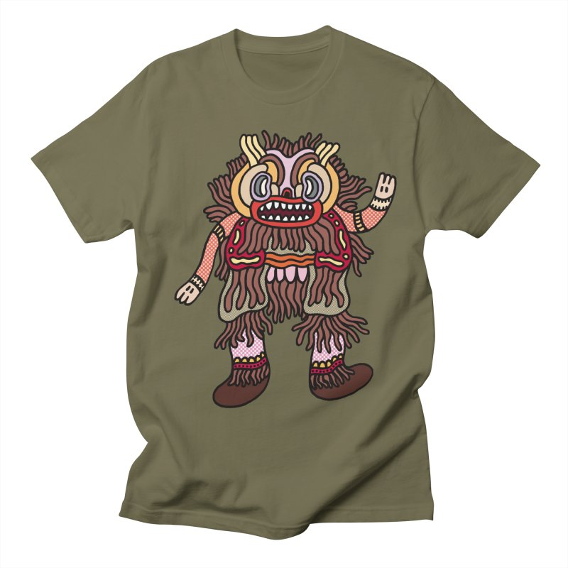 Olmeca Monster of the day (June 6) [Year 1] Women's Regular Unisex T-Shirt by Daily Monster Shop by Royal Glamsters