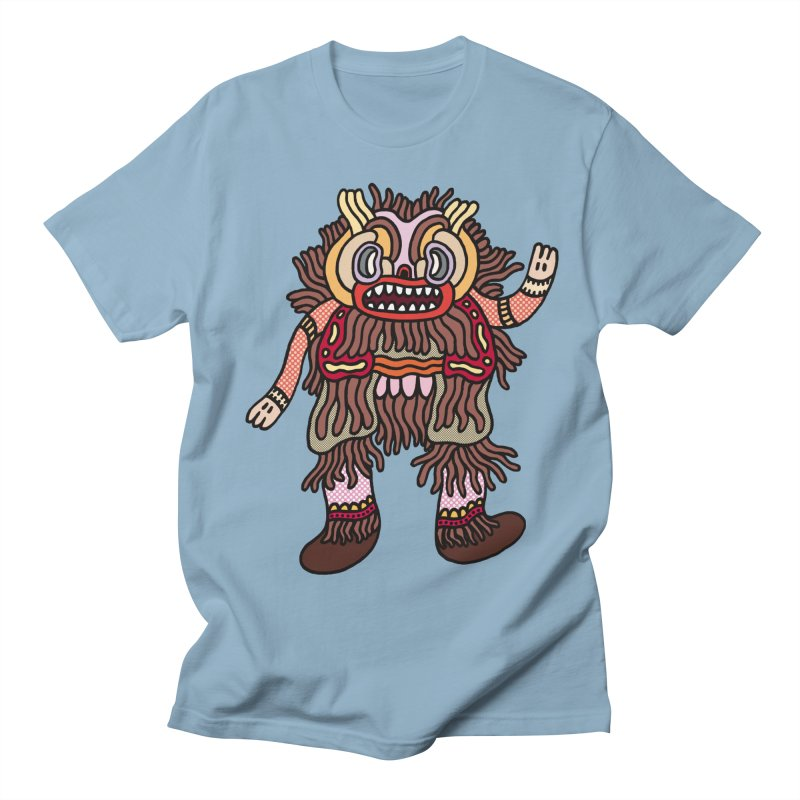 Olmeca Monster of the day (June 6) [Year 1] Men's Regular T-Shirt by Daily Monster Shop by Royal Glamsters