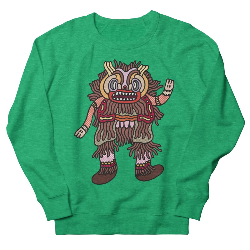Olmeca Monster of the day (June 6) [Year 1] Women's French Terry Sweatshirt by Daily Monster Shop by Royal Glamsters