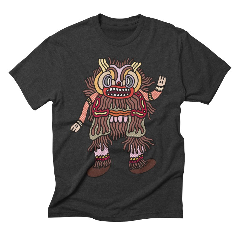 Olmeca Monster of the day (June 6) [Year 1] Men's Triblend T-Shirt by Daily Monster Shop by Royal Glamsters
