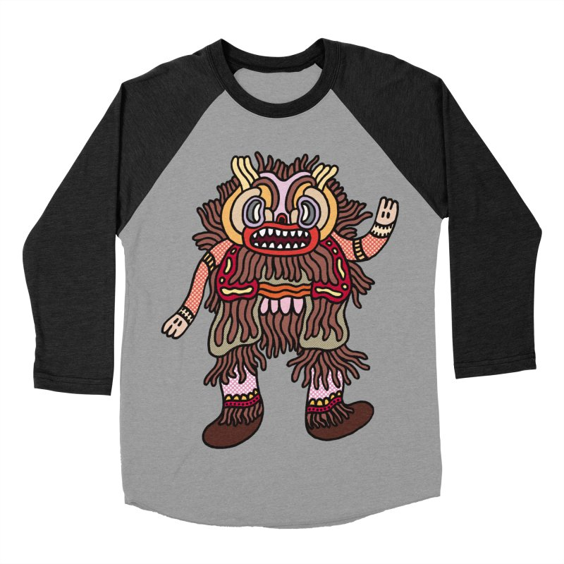 Olmeca Monster of the day (June 6) [Year 1] Women's Baseball Triblend T-Shirt by Daily Monster Shop by Royal Glamsters
