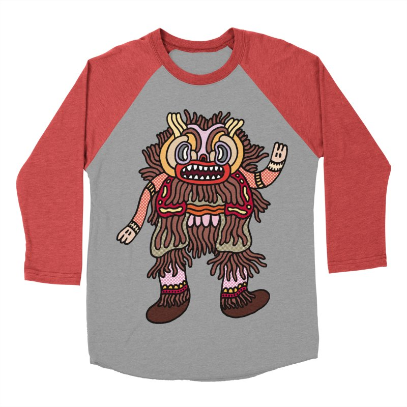 Olmeca Monster of the day (June 6) [Year 1] Men's Longsleeve T-Shirt by Daily Monster Shop by Royal Glamsters