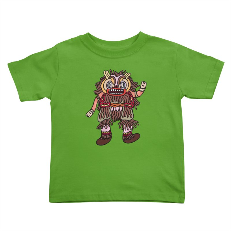 Olmeca Monster of the day (June 6) [Year 1] Kids Toddler T-Shirt by Daily Monster Shop by Royal Glamsters