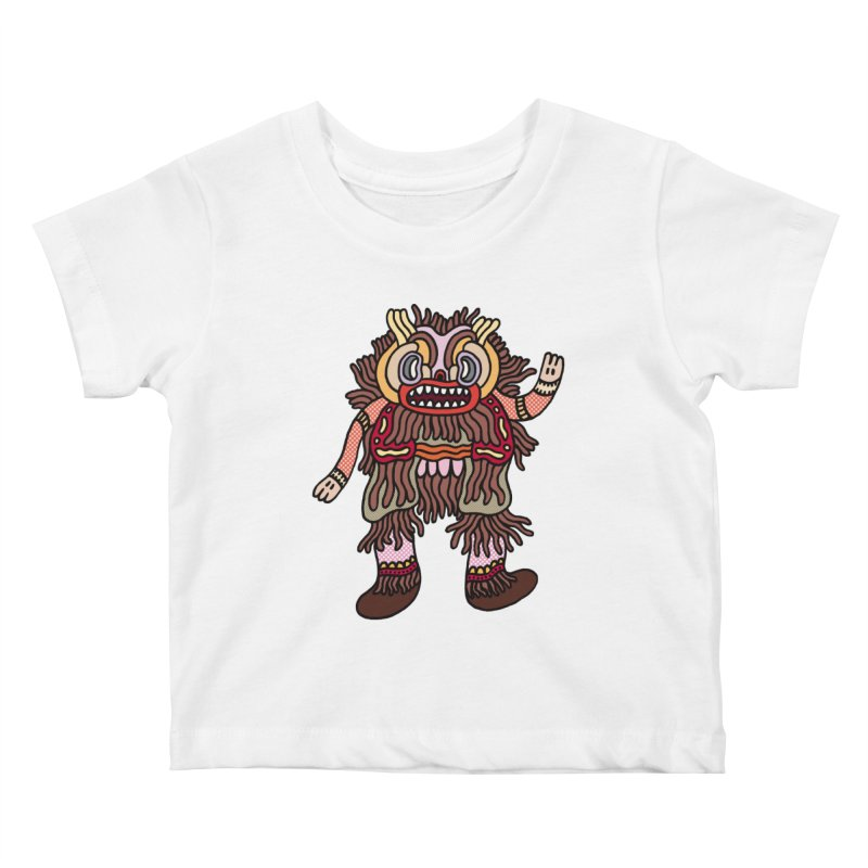 Olmeca Monster of the day (June 6) [Year 1] Kids Baby T-Shirt by Daily Monster Shop by Royal Glamsters