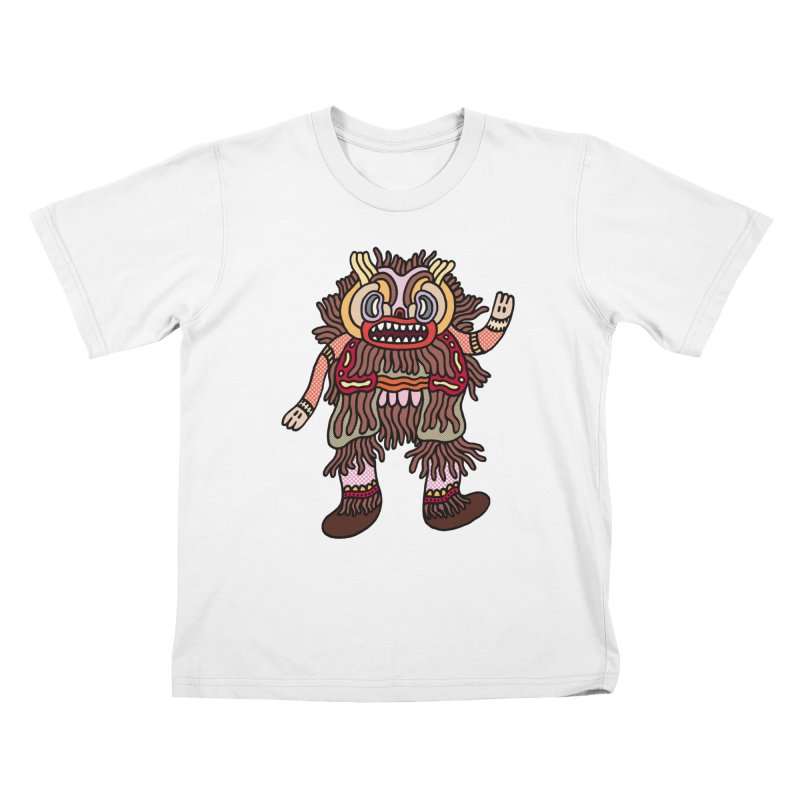 Olmeca Monster of the day (June 6) [Year 1] Kids T-Shirt by Daily Monster Shop by Royal Glamsters