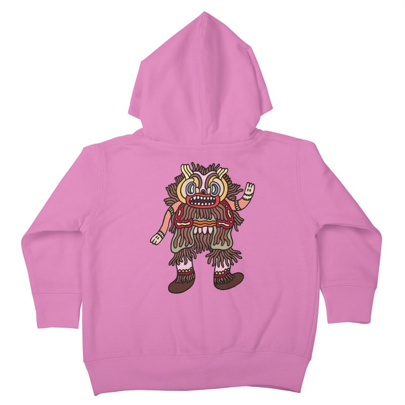 Olmeca Monster of the day (June 6) [Year 1] Kids Toddler Zip-Up Hoody by Daily Monster Shop by Royal Glamsters