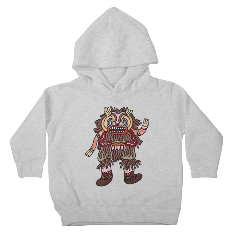 Olmeca Monster of the day (June 6) [Year 1] Kids Toddler Pullover Hoody by Daily Monster Shop by Royal Glamsters