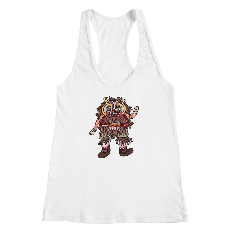 Olmeca Monster of the day (June 6) [Year 1] Women's Racerback Tank by Daily Monster Shop by Royal Glamsters