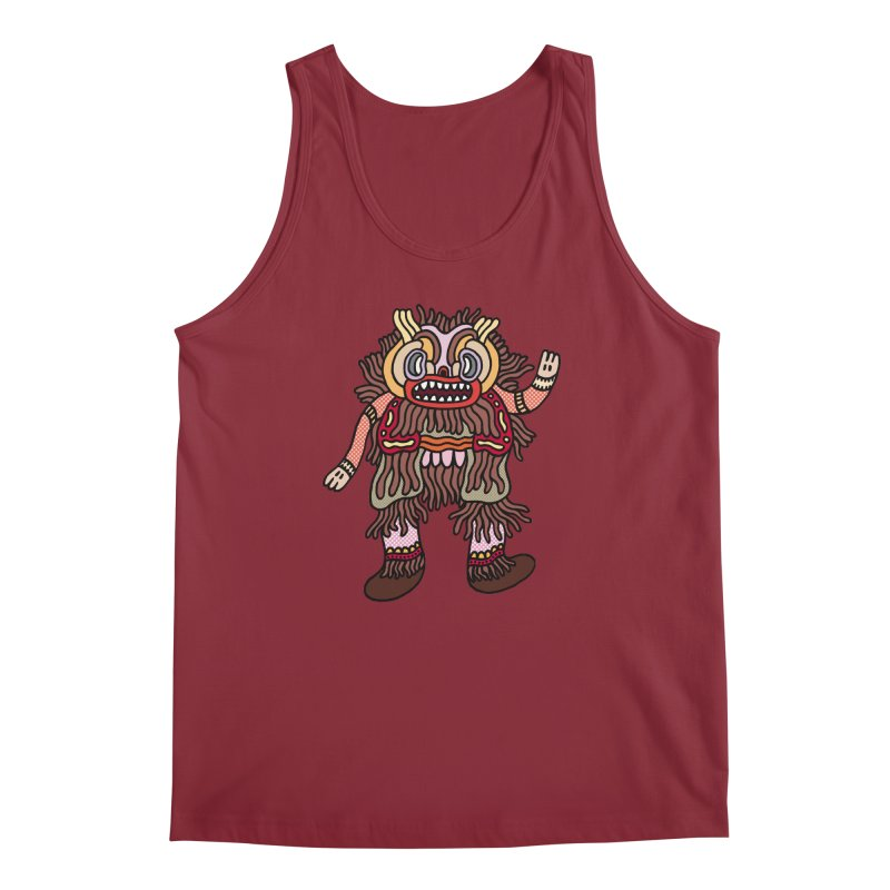 Olmeca Monster of the day (June 6) [Year 1] Men's Regular Tank by Daily Monster Shop by Royal Glamsters
