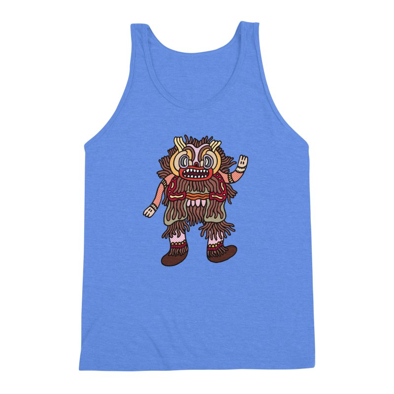 Olmeca Monster of the day (June 6) [Year 1] Men's Triblend Tank by Daily Monster Shop by Royal Glamsters